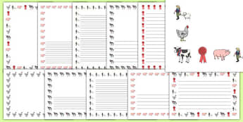 Calf Club Page Border Pack