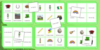 Elderly Care St. Patrick's Day Bingo -Elderly, Reminiscence, Care Homes, St. Patrick's Day