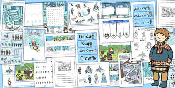 The Snow Queen Resource Pack - storybooks, stories, activities