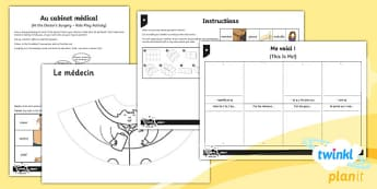 French: All About Ourselves Year 5 Home Learning Tasks