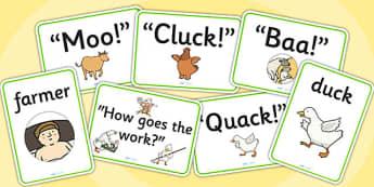 Farmer Duck Display Posters - Farmer duck, farmer duck posters, display posters, farmer duck display, farmer duck display posters