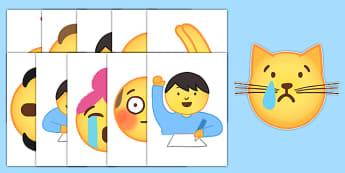 Emojis Display Cut-Outs - , moji