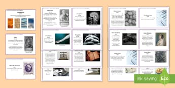 Medicine through Time: Significant Individuals Fact Cards  - gcse, key stage 4, history, medicine through time, public health, medicine, individuals, hippocrates
