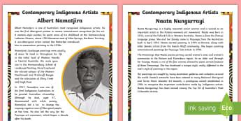 Aboriginal Artists Fact File - Aboriginal art, indigenous art, artists, australian history, aboriginal history,Australia