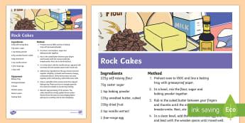 Rock Cakes Recipe - - rock, cakes, recipe, baking, cooking,