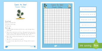 Coordinates and Perimeter Island Game - Geometry, Perimeter, New Zealand, Maths, Co-ordinates