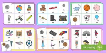 Bingo Y Siop Deganau (at 20c) - mathemateg, arian, rhifedd, siop, bingo, loto,Welsh