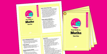 2014 Curriculum Cards Year 1 Maths - new curriculum, plans, card