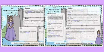The Princess and the Pea Lesson Plan Ideas KS1 - lesson plan, KS1