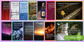 Mixed Shakespeare Quotations Display Pack  - Shakespeare Quotes, Shakespeare quotations, Shakespeare Display, display, quotes, quotations, KS3 Di