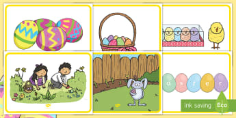 Easter Display Posters - ROI, Easter, Display Posters, English, Classroom signs, Irish, posters, holidays,