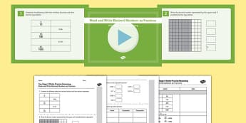 KS2 Reasoning Test Practice Read and Write Decimal Numbers as Fractions Resource Pack - Key Stage 2, Reasoning Test, Practice, Fractions, Decimals, Percentages, Year 6