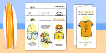 Sun Safety Leaflet - sun safety leaflet, sun, safety, leaflet