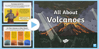 All About Volcanoes Information PowerPoint - Volcano PowerPoint, Geography, KS2, ks2-mountains-and-volcanoes, new-2014-curriculum-resources-ks2-g
