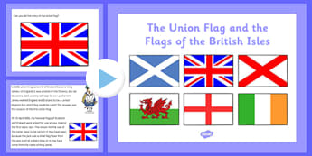 The Union Flag and Flags of the British Isles PowerPoint - cfe, union flag, british isles, powerpoint