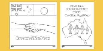 National Reconciliation Week Colouring Sheets - australia, national reconciliation week, colouring, colour