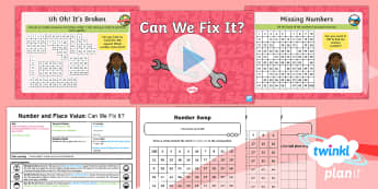 PlanIt Y1 Number and Place Value Count up to, Back from and Across 100 (1) Lesson Pack - Count, 100, 0-100, counting up, counting back, year 1 , year one, ks1, maths, numeracy, hundred, one