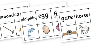 Alphabet Words and Pictures Matching Cards - alphabet, alphabet matching game, a-z matching, alphabet word matching game, alphabet picture matching game