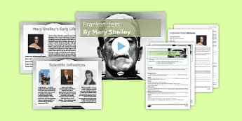 Frankenstein Context Lesson Pack - frankenstein, context, lesson pack, lesson, ks4, monster