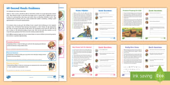 LKS2 60-Second Reads: Anglo-Saxons Activity Pack - Ninety Words Per Minute, Speed Read, Sixty Second Reads, Assessment, Reading, Timed Reading, Ninety