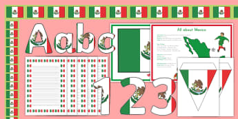 Mexico Display Pack - Mexico, All About Mexico, flag, Olmecs, Mexican, Mexico City