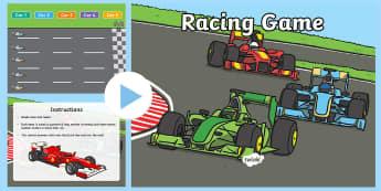 Car Race Plenary PowerPoint - car race, plenary, plenary powerpoint, car race powerpoint, powerpoint, class management, classroom powerpoint, quizzes