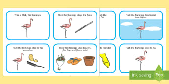 Initial 'fl' Word Story Cards - Cluster reduction, phonology, articulation, dyspraxia, sentence level, speech sounds