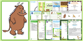 Childminder Resource Pack to Support Teaching on The Gruffalo - Julia Donaldson