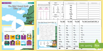 Year 2 Term 1B Week 4 Spelling Pack - Spelling Lists, Word Lists, Autumn Term, List Pack, SPaG