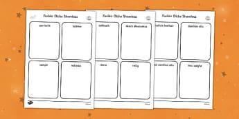 Irish Halloween Read and Draw Activity Sheet - roi, irish, republic of ireland, halloween, worksheet