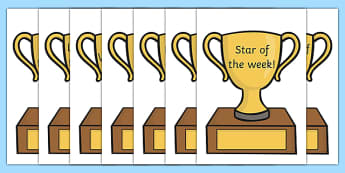 Classroom Award Trophies - Reward, trophy, medal, rewards, school reward, medal, good behaviour, award, good listener, good writing, good reading