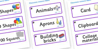 Magical Themed Editable Classroom Resource Labels - Themed Label template, Resource Label, Name Labels, Editable Labels, Drawer Labels, KS1 Labels, Foundation Labels, Foundation Stage Labels, Teaching Labels, Resource Labels, Tray Labels, Printable l