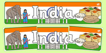 India Display Banner - India, Olympics, Olympic Games, sports, Olympic, London, 2012, display, banner, sign, poster, activity, Olympic torch, flag, countries, medal, Olympic Rings, mascots, flame, compete, events, tennis, athlete, swimming