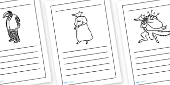 Writing Frames to Support Teaching on Fantastic Mr Fox - writing frames, fantastic mr fox, mr fox writing frames, writing, frames, story book, mr fox, writing templates