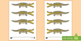 Greater Than and Less Than (Crocodiles - Small) English/Mandarin Chinese - Greater Than And Less Than (Crocodiles, Small) - greater than, less than, maths, numeracy, greater t