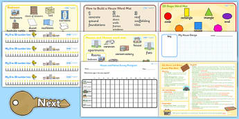 Houses and Homes KS1 Lesson Plan Ideas and Resource Pack - plan