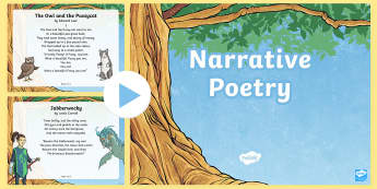 UKS2 Narrative Poems PowerPoint - Learn a wider range of poetry by heart, poems, poetry, narrative poems, narrative poetry, the highwa