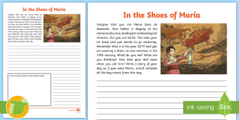 ES Altamira Cave Paintings Diary Entry Activity Sheet - Altamira, stone age, prehistory, Spanish history, Palaeolithic, cave paintings, bison, archaeologist