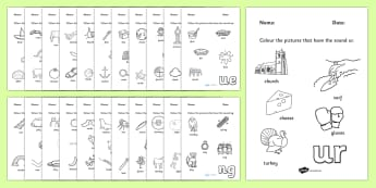 Digraph Colouring Worksheets - digraph colouring worksheets, diagraph, colouring, worksheets, sheet, worksheet, colouring, recognising, 'ai', 'ee', sounds, picture, activity, sound, different