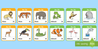 The Zoo Tickets - cfe, curriculum for excellence, gaelic, the zoo, role play, tickets, play, enter, entrance