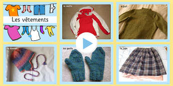 Clothing Photo PowerPoint French - french, clothing, photo powerpoint, clothing photos, clothing images, clothing powerpoint, clothing images, clothing powerpoint