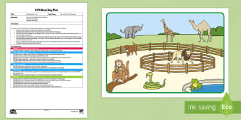 EYFS Matching Busy Bag Plan and Resource Pack to Support Teaching on Dear Zoo - Dear Zoo, Rod Campbell, animals, letter to the zoo, story retell, story recall, sort, match, order