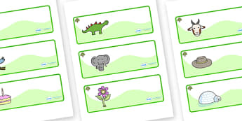 Oak Tree Themed Editable Drawer-Peg-Name Labels - Themed Classroom Label Templates, Resource Labels, Name Labels, Editable Labels, Drawer Labels, Coat Peg Labels, Peg Label, KS1 Labels, Foundation Labels, Foundation Stage Labels, Teaching Labels