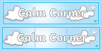 Calm Corner Display Banner - calm, corner, display banner, display