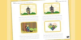 Rapunzel Storyboard Template - storyboard, rapunzel, template