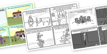 Jack and the Beanstalk Sequencing Cards - sequencing, story sequencing, stories, story, jack and the beanstalk, jack and the beanstalk story sequencing, jack and the beanstalk story, story resources, tells the story, reading, books, bo