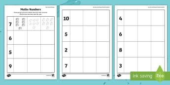 Up, Up and Away! Numbers Activity Sheet - up, up and away numbers activity sheet - ROI, Exploring our world, Aistear, Story, Number, Pictures,