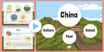 China Information PowerPoint - Facts About China