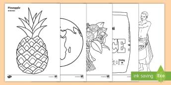 Fairtrade Colouring Sheets English/Polish - Fairtrade Colouring Sheets - fairtrade, colouring, colour, sheets, colering, colourng, couloring,EAL