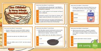Probleme matematice de Lăsatul-secului - Lăsatul-secului, română, matematică, probleme, provocări, exerciții, adunări, scăderi, înmu